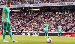 07.08.2019, Red Bull Arena, Salzburg, AUT, Testspiel, FC Red Bull Salzburg vs Real Madrid, im Bild Eden Hazard (Real Madrid) // during a Friendly Match between FC Red Bull Salzburg and Real Madrid at the Red Bull Arena in Salzburg, Austria on 2019/08/07. EXPA Pictures © 2019, PhotoCredit: EXPA/ JFK