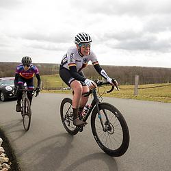 12-03-2021: Wielrennen: Healthy Ageing Tour: Wijster <br />Mieke Kroger