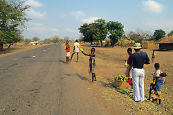 Selling Corn By The Side Of The Road