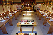 traditional Japanese wedding chapel at Hotel Yokohama Garden