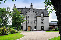 Famous Easter Elchies House in grounds of Macallan whisky distillery in Craigellachie Scotland United Kingdom