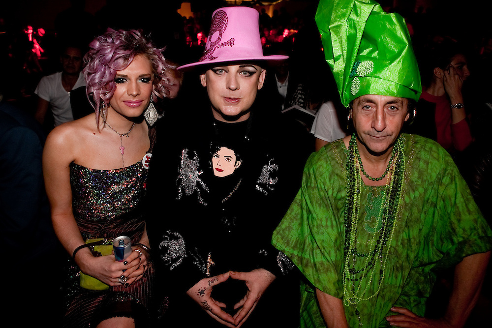 Boy George & Philip Salon at The Red Bull Fashion Factory for the Vivienne Westwood SS10 show