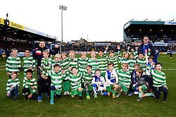 Flagbearers  - Mandatory by-line: Dougie Allward/JMP - 23/12/2017 - FOOTBALL - Ashton Gate Stadium - Bristol, England - Bristol City v Manchester United - Carabao Cup Quarter Final