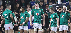 Ireland's James Ryan (centre) bloodied during the Autumn International match at the Aviva Stadium, Dublin.