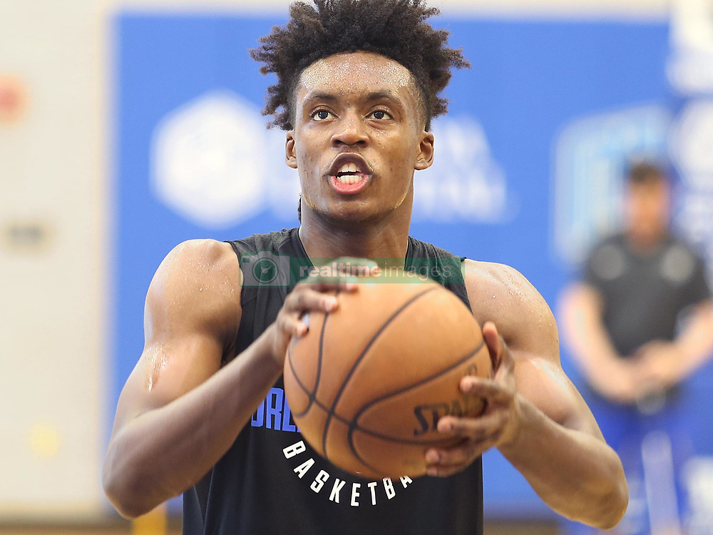 June 16, 2018 - Orlando, FL, USA - Former Alabama player Collin Sexton during workout for the Orlando Magic at the Amway Center in Orlando, Fla., on Saturday, June 16, 2018. (Credit Image: © Stephen M. Dowell/TNS via ZUMA Wire)
