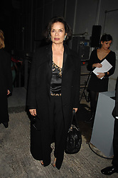 BIANCA JAGGER at an exclusive installation by Martin Creed and presentation of the Calvin Klein Spring 2008 collection held at P3 35 Marylebone Road, London on 15th October 2007.<br /><br />NON EXCLUSIVE - WORLD RIGHTS