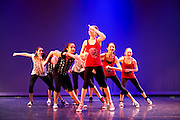 Dance Wisconsin dancers rehearse Monona Party Up at Madison College in Madison, Wisconsin on October 12, 2012.