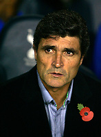 Photo: Tom Dulat.<br /> <br /> Tottenham Hotspur v Blackpool. Carling Cup. 31/10/2007.<br /> <br /> New manager of Tottenham Hotspur Juane Ramos.