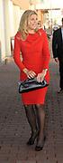 Prinses Maxima komt aan bij de uitreiking van de Prins Bernhard Cultuurfonds Prijs 2011 aan Anton Corbijn in Muziekgebouw aan het IJ in Amsterdam<br /> <br /> Princess Maxima arrives at the presentation of the Prince Bernhard Culture Prize in 2011 for Anton Corbijn Music Building on the IJ in Amsterdam