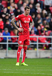 Aden Flint of Bristol City  - Mandatory by-line: Joe Meredith/JMP - 04/02/2017 - FOOTBALL - Ashton Gate - Bristol, England - Bristol City v Rotherham United - Sky Bet Championship