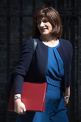 Education Secretary Nicky Morgan leaves Prime Minister David Cameron's final cabinet meeting following Theresa May's anticipated takeover as Leader of the Conservative Party and Prime Minister on Wednesday 13th July 2016.