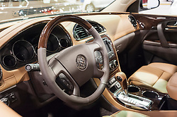 CHARLOTTE, NC, USA - November 11, 2015: Buick Enclave on display during the 2015 Charlotte International Auto Show at the Charlotte Convention Center in downtown Charlotte.