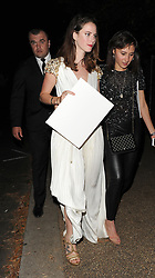 Celebrities leaving the annual Serpentine Summer Party, held in Hyde Park. 19 Jun 2018 Pictured: Kaya Scodelario. Photo credit: Will / MEGA TheMegaAgency.com +1 888 505 6342