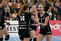 20180425 NED: Eredivisie Sliedrecht Sport - Coolen Alterno, Sliedrecht <br />(L-R) Kirsten Wessels (7) of Coolen Alterno<br />©2018-FotoHoogendoorn.nl / Pim Waslander