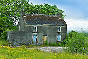 Derelict house with development potential at Rosmuck in the Gaeltecht area of Connemara, County Galway, Ireland