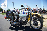 An award winning BMW GS motorcycle