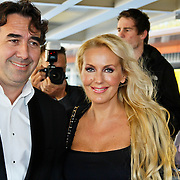 NLD/Tilburg/20101010 - Inloop musical Legaly Blonde, Mandy Huydts en partner Nick Kouwenhoven