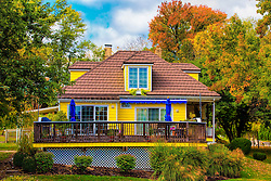 Yellow Farmhouse is a St. Louis area winery located on Highway 94 in St. Charles County. As local wineries near St. Louis go we're found in the white clapboard lined town of Defiance at the entrance of Missouri's wine country. Defiance hasn't changed much since its early days as a railroad depot stop. Wine devotees, bicyclists of the Katy trail, and motorcycle enthusiasts are among its many visitors these days.