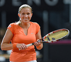08-02-2015 NED: Fed Cup Nederland - Slowakije, Apeldoorn<br /> Michaëlla Krajicek