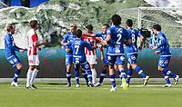 FotballFørstedivisjonTromsø IL vs Ranheim04.05.2014Gjermund Åsen, RanheimThomas Kind Bendiksen, TromsøMads Reginiussen, RanheimFoto: Tom Benjaminsen / Digitalsport