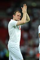 Wayne Rooney<br /> England 2009/10<br /> England V Mexico (3-1) 24/05/09 <br /> International Friendly<br /> Photo Robin Parker Fotosports International