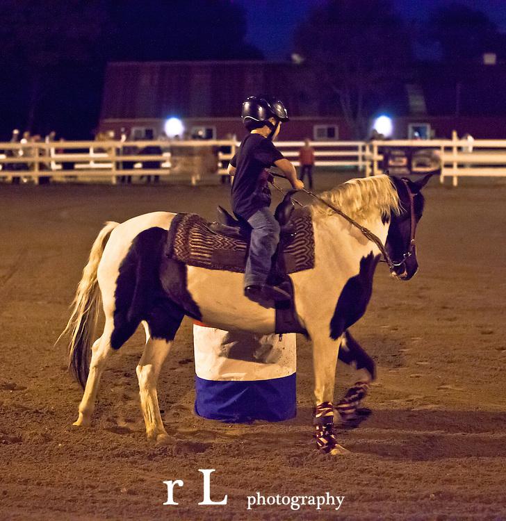 NBHA; The National Barrel Horse Association at Medford Long Island 9-21-12, Western Horses Barrel Racing