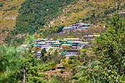 Himalayan Mountains landscape at Manali, Himachal Pradesh, India