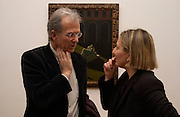 Lino Mannocci and Roberta Cremoncini, ( director of Gallery) Giorgio de Chirico and the Myth of Ariadne, Estorick Collection, London. 21 January 2003. © Copyright Photograph by Dafydd Jones 66 Stockwell Park Rd. London SW9 0DA Tel 020 7733 0108 www.dafjones.com