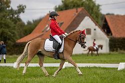 Verstappen Janne, BEL, Maestro<br /> Nationaal Kampioenschap LRV <br /> Ponies Dressuur - Oudenaarde 2020<br />  03/10/2020