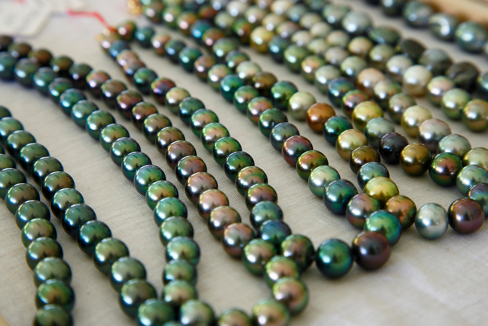 Perlas Negras, Rangiroa, Archipiélago Tuamotu, Polinesia Francesa