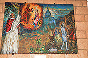 Israel, Nazareth, Interior of the Basilica of the Annunciation
