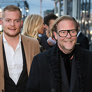 NLD/Amsterdam/20161008 - JFK Greatest Man 2016, Bastiaan van Schaik en partner Ramon Heinhuis