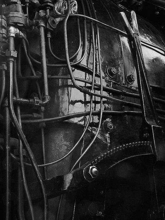 Steam Engine Cab, Sunol, CA