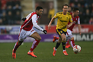 Rotherham United forward Leon Best (50)  during the Sky Bet Championship match between Rotherham United and Middlesbrough at the New York Stadium, Rotherham, England on 8 March 2016. Photo by Simon Davies.