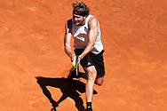 Alexander Zverev of Germany during the Mutua Madrid Open 2021, Masters 1000 tennis tournament on May 7, 2021 at La Caja Magica in Madrid, Spain - Photo Laurent Lairys / ProSportsImages / DPPI