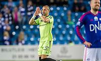Fotball<br /> Ullevaal Stadion 18.10.15<br /> Vålerenga VIF - Sarpsborg 08<br /> Bojan Zajic får applaus av Klanen<br /> Foto: Eirik Førde