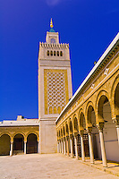 Mosque of the Zitouna, Aghlabid Ez-Zitouna Mosque, Tunis, Tunisia