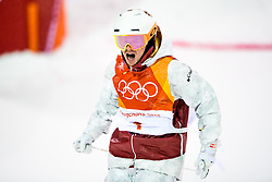 February 12, 2018 - Pyeongchang, SOUTH KOREA - 180212  Mikael Kingsbury of Canada competes in the men's moguls final during day three of the 2018 Winter Olympics on February 12, 2018 in Pyeongchang..Photo: Carl Sandin / BILDBYRÃ…N / kod CS / 57999_286 (Credit Image: © Carl Sandin/Bildbyran via ZUMA Press)