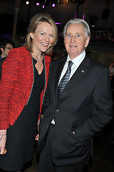 ALISON DYKES and JOHN WATSON at the Motor Sport magazine's 2013 Hall of Fame awards at The Royal Opera House, London on 25th February 2013.