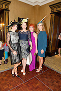Mandy Maher Catwalk Models, Tara Lavin winner of the most stylish Lady,  Mary Maguire BT and Mary Lee who were two of the Judges  at the Hotel Meyrick Most Stylish Lady event on ladies day of The Galway Races. Photo:Andrew Downes