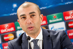 Roberto Di Matteo, head coach of Schalke during press conference after the football match between NK Maribor, SLO  and FC Schalke 04, GER in Group G of Group Stage of UEFA Champions League 2014/15, on December 9, 2014 in Stadium Ljudski vrt, Maribor, Slovenia. Photo by Vid Ponikvar / Sportida