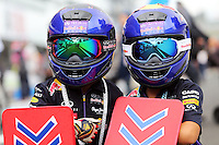 Young Red Bull Racing fans.<br /> Japanese Grand Prix, Thursday 2nd October 2014. Suzuka, Japan.