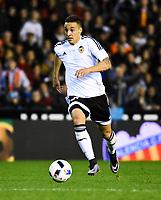 Valencia CF's   Rodrigo during spanish King's Cup match. January 21, 2016. (ALTERPHOTOS/Javier Comos)