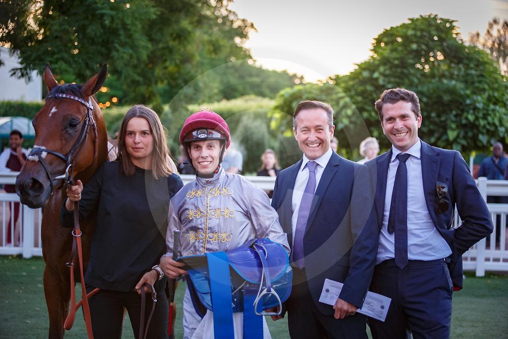 Middle East (C. Demuro) wins Prix Radio FG Handicap in Saint-Cloud, 14/07/2017, photo: Zuzanna Lupa / Racingfotos.com