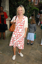 MARIELLA FROSTRUP at the annual Macmillan Cancer Support House of Lords vs the House of Commons Tug of War held in Victoria Tower Gardens on 20th June 2006.<br /><br />NON EXCLUSIVE - WORLD RIGHTS