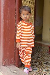 Young Boy At Royal Palace