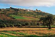 PORTUGAL, ALENTEJO Monsaraz; walled, hilltop town