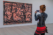Rituals (bumba and belfie pink) 2016 by Daniel Crews-Chubb - Saatchi Gallery's autumn show ICONOCLASTS: Art out of the Mainstream opens on 27th September 2017. It comes exactly 20 years after Charles Saatchi's exhibition Sensation which launched the careers of the Young British artists. ICONOCLASTS explores the work of 13 ground breaking British and international artists whose image-making practice is unorthodox.