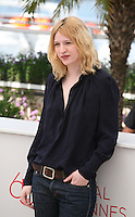 Actress Christa Theret, at the Renoir photocall at the 65th Cannes Film Festival France. Saturday 26th May 2012 in Cannes Film Festival, France.