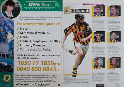 All Ireland Senior Hurling Championship Final,.12.09.2004, 09.12.2004, 12th September 2004,.Senior Cork 0-7, Kilkenny 0-9,.Minor Kilkenny 1-18 ,  Galway 3-12 (draw),.12092004AISHCF, Quinn direct,.